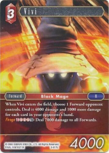 Legend Near Mint Final Fantasy TCG Opus III 2B3 Vivi 3-017