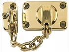 Yale Ws16 Combined Door Chain & Bolt Electro Brass