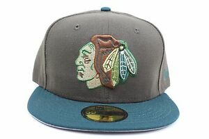 Chicago-Blackhawks-Brown-Green-Beef-and-Broccoli-New-Era-59Fifty-Fitted-Hat
