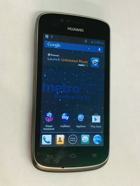 Metro Pcs Huawei Valiant Y301 A1 4g Android Smart Cell Phone For Sale Online Ebay