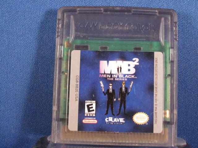 Nintendo Game Boy Color MIB Men In Black The Series 2