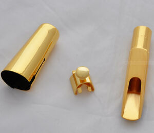 High-grade-Metal-Saxophone-Mouthpiece-Tenor-Sax-MPC-Gold-plated-size-5-9