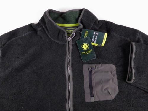 Bass Fleece Full Zip Arctic Terrain Explorer Jacket NWT Chest Pocket $135 G.H