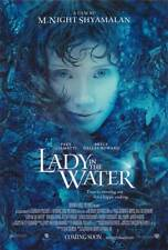 LADY IN THE WATER Movie POSTER 27x40 B Paul Giamatti Bryce Dallas Howard Andrew