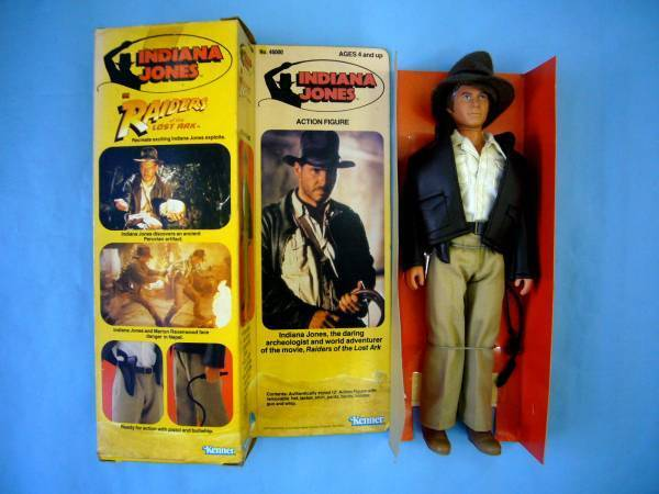 Kenner Indiana Indiana Indiana Jones Action Figure Raiders of the Lost Ark 30.5 cm from Japan d7c501
