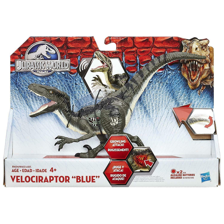 Hasbro Jurassic World Velociraptor Blau Figure