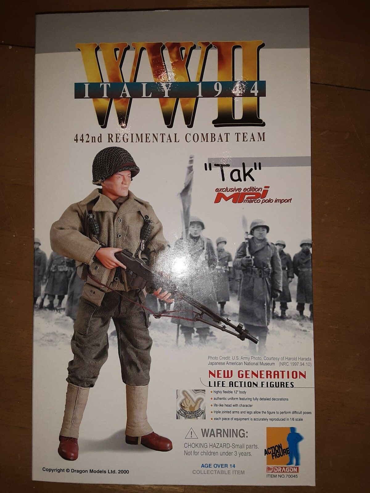 Dragon modellolos WWII '44 Tak MPI Exclusive