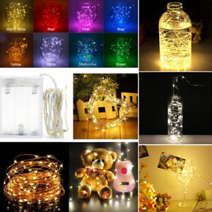 20-50-100-LEDs-Battery-Operated-Mini-LED-Copper-Wire-String-Fairy-Lights-10M