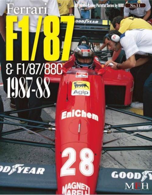 Mfh Book No11 Ferrari F1 87&88c 1987-1988 Joe Honda Treasurosso Fotos