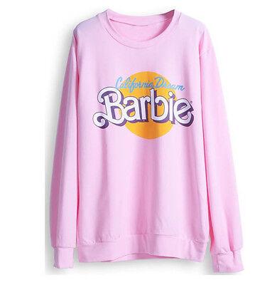 B-Stock- Barbie California Dream light Jumper, Pink, kawaii, cute, doll, Retro