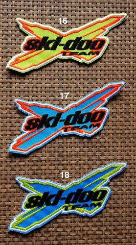 Ski Doo snowmobile Patch