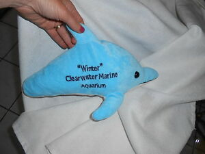 Winter Dolphin Tale No Tail Plush Clearwater Marine 14 Movie