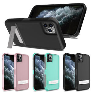 For-iPhone-11-11-Pro-Max-Stand-Case-With-Kickstand-Protective-Armor-Rugged-Cover