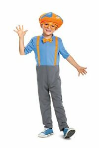 Blippi Child Toddler Costume Boys Size 4-6 NEW