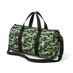 Newly A Bathing Ape Bape Camo Shoulder Handbag Cylinder Bag From Japan Magazine