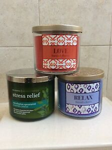 Bath-Body-Works-3-Wick-Candle-Set-of-2-Mix-or-Match