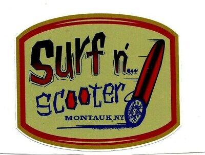 SCOTT DILLON SURFBOARDS Sticker Decal Surfboard Surfing Longboard Malibu