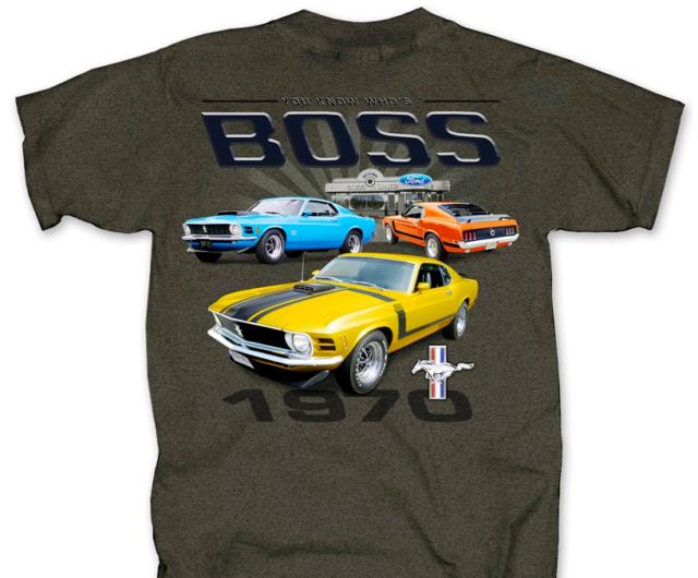 35454f48 Ford Mustang Fox Body American Flag Back Graphic Indigo Men's T-shirt Size  2xl