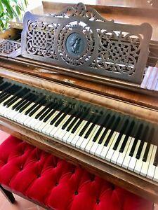 Frugal J. Czapka & Fils Ailes Quart De Queue Grand Piano Pianofort Piano Salon Ailes-afficher Le Titre D'origine Soulager La Chaleur Et Le Soleil