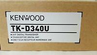 Kenwood Tk-d340uk2 Uhf Portable 4 Watt 16 Channel 400-470 Mhz