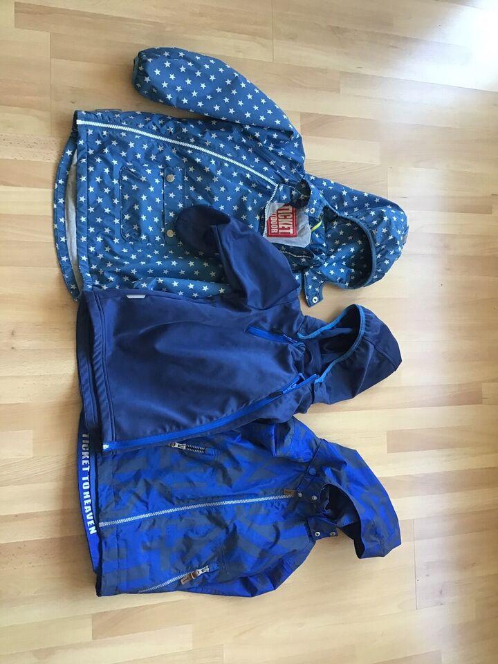 Jakke, Windbreaker, softshell og overgangsjakke