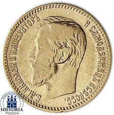 Russland 5 Rubel Gold 1898 (ss) Goldmünze Zar Nikolaus II