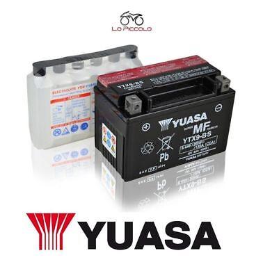 Acquista A Buon Mercato Batteria Yuasa Ytx9-bs Honda Ntv Revere (rc33) 650 1988 1989 1990 1991 1992 1993 Ultima Moda