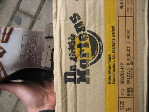 Mie Loch Martens Grizzly Bagz8144p Doc 4 8144 Bark Dr Originale a7d0xw0