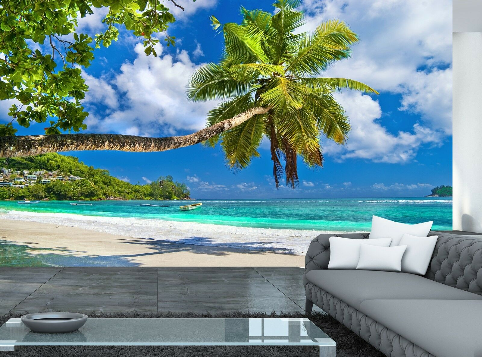 Seychelles Islands   Wall Mural Photo Wallpaper GIANT DECOR Paper Poster