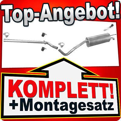 Auspuff Rohr Mittelrohr Abgasrohr Auspuffrohr Skoda Roomster 1,2 1,4 1,6 1,9TDI
