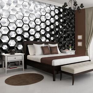VLIES-Fototapeten-Fototapete-Tapete-Abstraktion-Honigwabe-Mosaik-3D-10684-VE