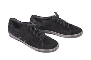 14D-Jenny-Damen-Sneaker-Velours-Leder-schwarz-Gr-40-6-5-G-Freizeit-Schuhe