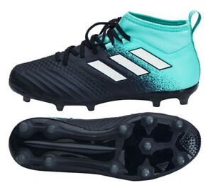 pretty nice 35297 663ca Image is loading NEW-Adidas-ACE-17-1-FG-Junior-Soccer-