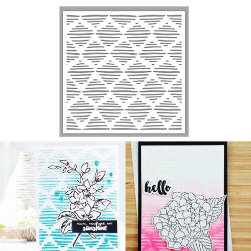 Various Designs Plastic Embossing Folders Template DIY Scrapbooking Cards Craft