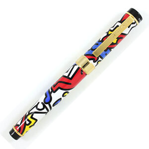 """Archived ACME Studio """"Doubles Multi"""" Roller Ball Pen by Keith Haring  NEW"""