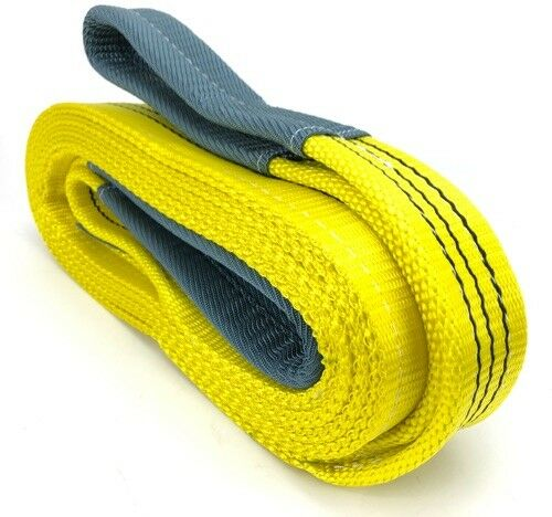3 Tonne Tow Strap x 2 Metres Tow Rope Car Van Trucks Recovery Strap 3000kg