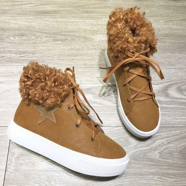 botas stivaletti bassi zapatos anfibi 4 cm beige lacci pelle sintetica 9628