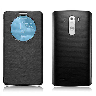 New Quick CIRCLE window Flip case cover for LG Optimus G3 G4