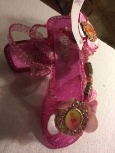 fc16741207fd2 SLEEPING BEAUTY~AURORA~Light Up+JEWELS~SHOES~Costume~NWT~Disney ...