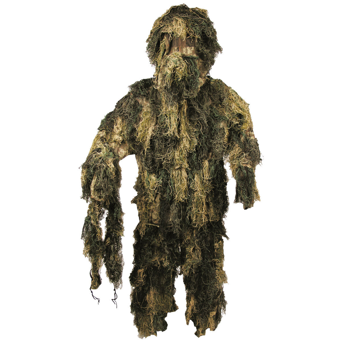 Ghillie Yowie Set Camouflage Suit Airsoft Hunting Shooting Woodland Camo M-XXL