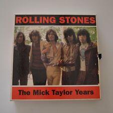 ROLLING STONES - The Mick TAYLOR years - 1994 UK LTD EDITION BOX 4CDs MINI LP