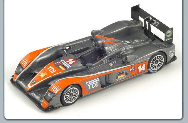 1 43 Spark Audi R10 TDI Kolles Le Mans 24 HRS 2009 No.14 N. Karthikeyan