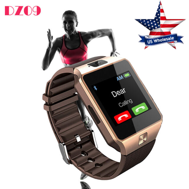 DZ09 Bluetooth Smart Watch Phone GSM SIM Slot For Android HTC Samsung Sony New