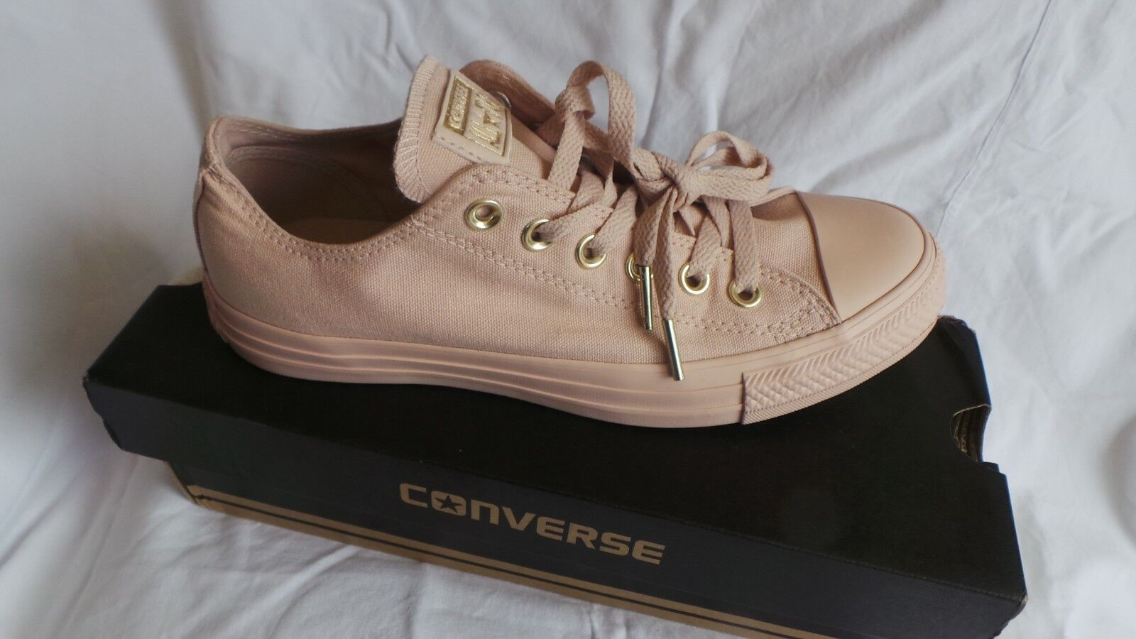 Brand New in box Converse Chuck Taylor All Star Mono Glam UK 6 EU 39 Particle be