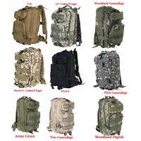 30l 3p Comfortable Waterproof Backpack Bag 600d Nylon Army Green