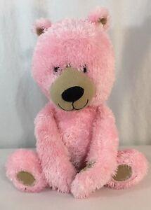 Target-Circo-Pink-Tan-Corduroy-Plush-Baby-Bear-Stuffed-Teddy-Soft-Toy-12-034