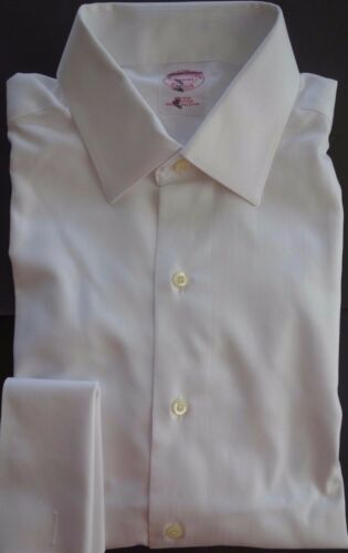 Brothers de hierro blanco Msrp Brooks 225 Nwt 14 cuello 31 sin punto camisa de 5HHwZq