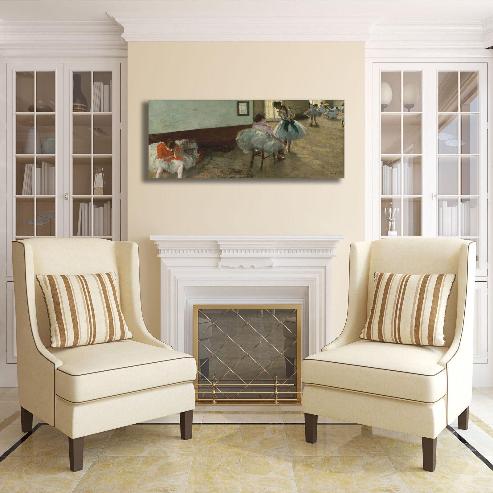 Degas lezione di di di danza design quadro stampa tela dipinto telaio arRouge o casa 6a6770