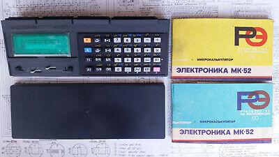 NOS New Soviet RPN Programmable VDF Calculator Elektronika MK-52 Manuals USSR