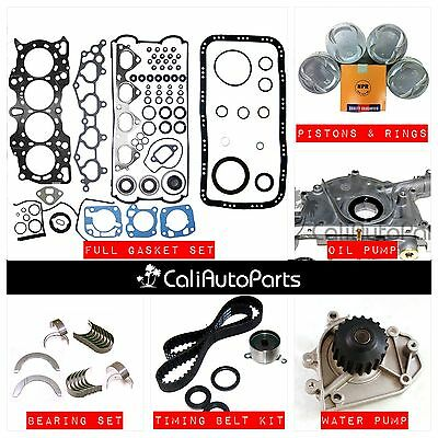 Overhaul Engine Rebuild Kit Fit 90-95 Acura Integra 1.8 DOHC B18A1 B18B1